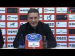 Rueda de prensa de  Luis Carrión tras el CD Numancia vs Girona FC (2-0)