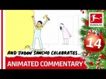 Bundesliga Animated Commentary – Powered by @Nick Murray Willis – 2019 Bundesliga Advent Calendar 14