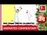 Bundesliga Animated Commentary – Powered by @Nick Murray Willis – 2019 Bundesliga Advent Calendar 14