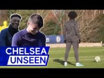 Who Is The Best Free Kick Taker? Mason Mount Takes On Willian 🎯  | Chelsea Unseen