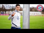 Lewandowski with a lot of swerve: FC Bayern's best training goals #6