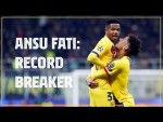 ⚽ Ansu Fati's record breaking Champions League goal against Inter