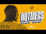 NUTS! | Best Arsenal Nutmegs | Pepe, Ceballos, Willock | Best of 2019 compilation
