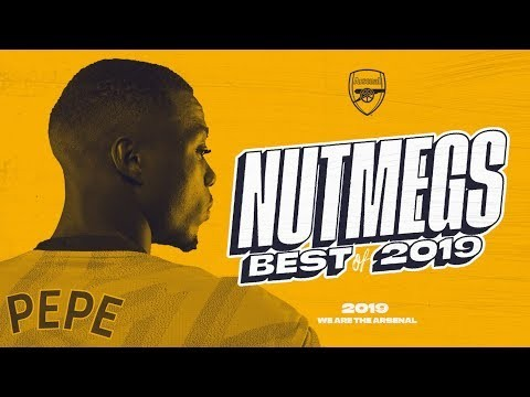 NUTS! | Best Arsenal Nutmegs | Pepe, Ceballos, Willock | Best of 2019 compilation