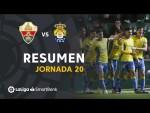 Resumen de Elche CF vs UD Las Palmas (2-3)