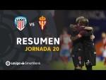 Resumen de CD Lugo vs Real Sporting (1-2)