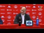 Rueda de prensa de José Alberto López tras el CD Lugo vs Real Sporting (1-2)