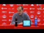 Rueda de prensa de Eloy Jiménez tras el CD Lugo vs Real Sporting (1-2)
