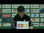 Rueda de prensa de Pacheta tras el Elche CF vs UD Las Palmas (2-3)
