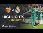 Highlights Valencia CF vs Real Madrid (1-1)