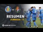 Resumen de Getafe CF vs Real Valladolid (2-0)