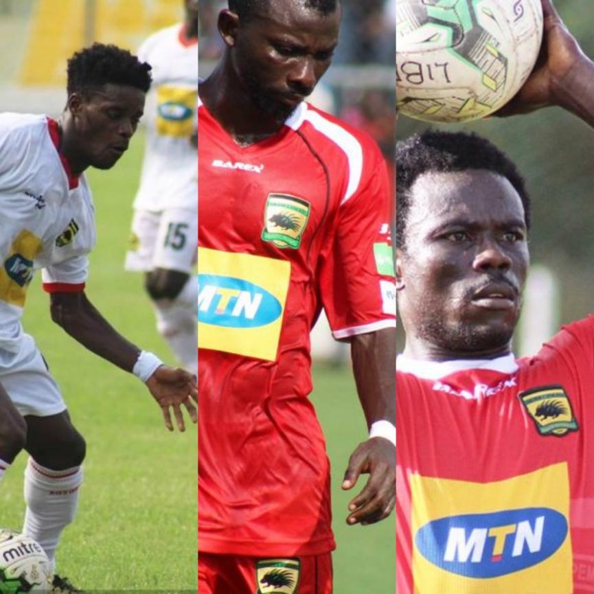 OFFICIAL: Asante Kotoko part ways Jordan Opoku & two others