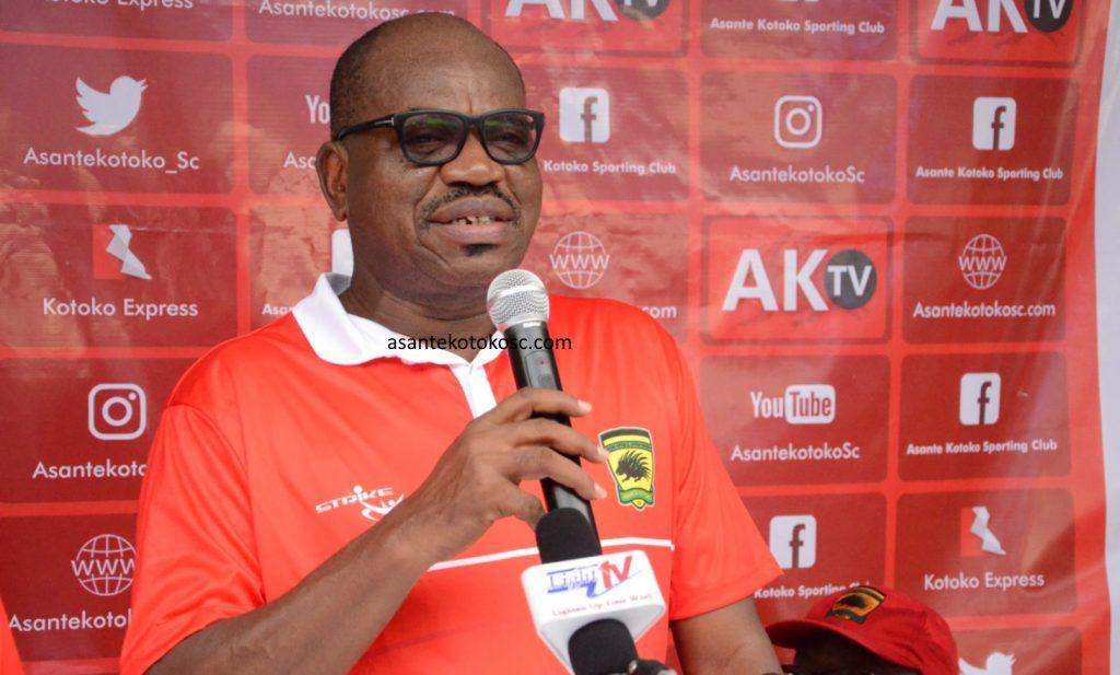 Goerge Amoako urges kotoko fans to put the past behind