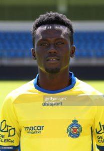 Injury blow to Waasland-Beveren as Ghanaian forward Eric Asomani suffers injury