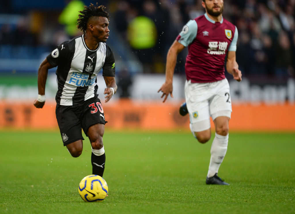 Atsu's Start for Magpies ends in a defeat
