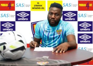 ''I'm a member of the biggest club in Africa'' - Hearts new goalie