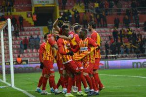 Ghana's Bernard Mensah excel for Kayserispor in 1-0 win over Rizespor