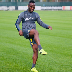 Agyemang Badu continues recovery as he trains alone