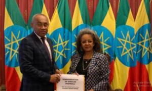 CAF President visits Ethiopia