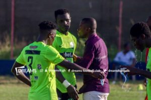 Dreams FC draw against Great Olympics in friendly