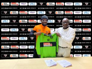 PICTURES: Legon Cities FC wrap up signing of Fatau Dauda