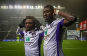 Luckassen's goal against Mouscron his first for Anderlecht since joining from PSV