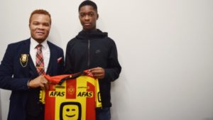 15-year-old Dirk Junior Asare pens professional contract till 2022 with Mechelen