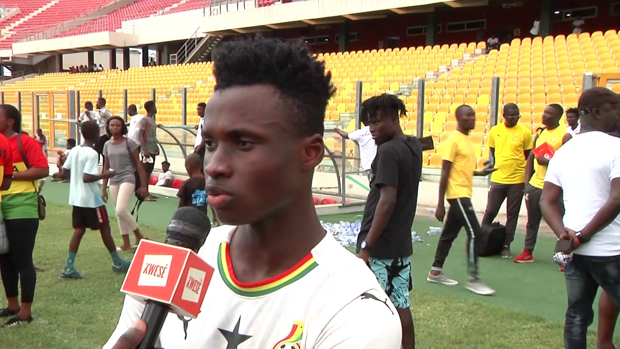 Youngster Evans Mensah opens up on desire to get future Black Stars call-up