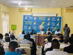 GFA holds workshop for club coaches ahead of 2019/2020 domestic season