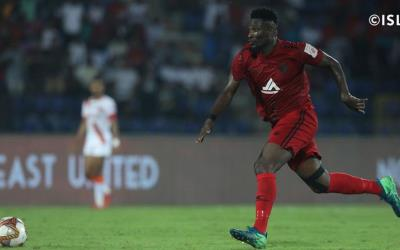 Asamoah Gyan suffers injury in NorthEast United defeat to ATK