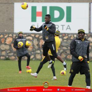 Afriyie Acquah in high spirits ahead of their game with Sivasspor