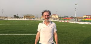 Goran Barjaktarevic visits the Madina Astro Turf