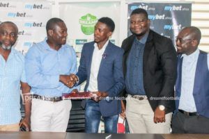 Dreams Fc renew their sponsorship deal with mybet