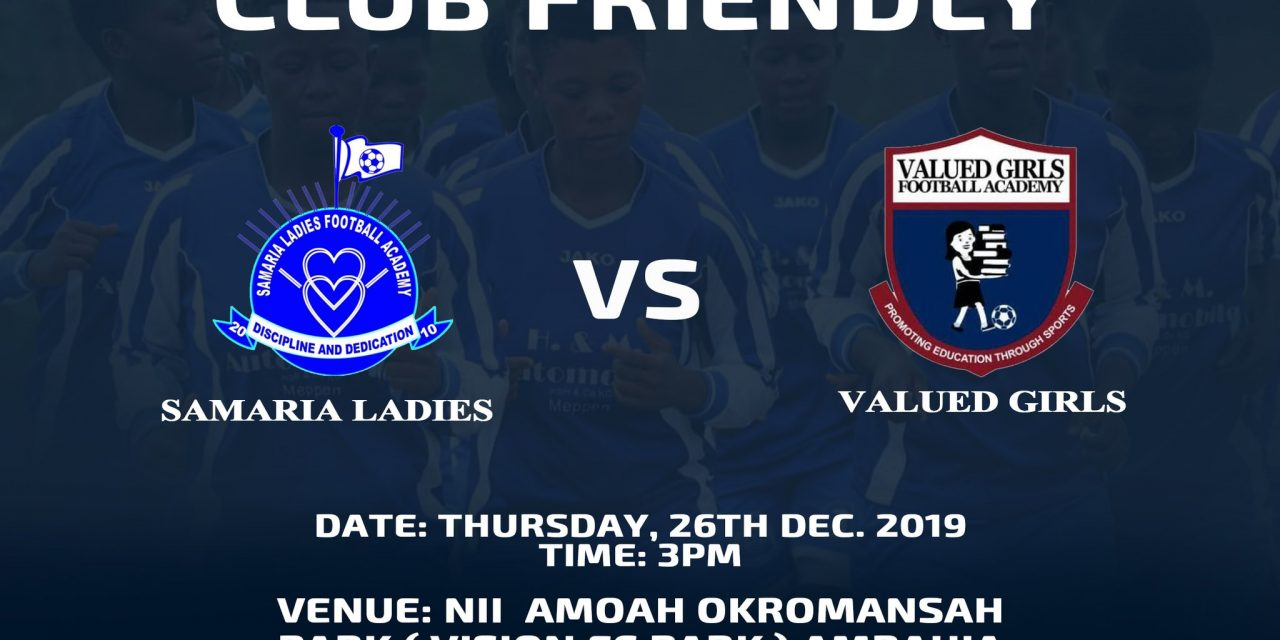 Samira ladies to face Valued ladies in a friendly match