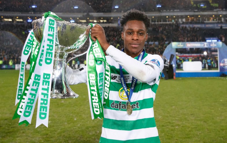 Ghana's Jeremie Frimpong excited after winning Scottish League Cup with Celtic