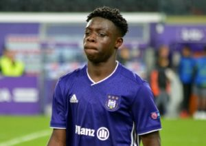 Doku feels over the moon after his goal for Anderlecht