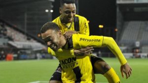 Ghanaian forward Jonathan Opoku scores as VVV Venlo defeat RKC Waalwijk