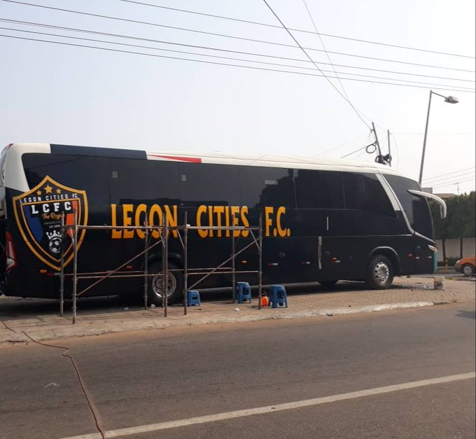 Legon Cities FC outdoors new 'BUS' as they show readiness for Ghana Premier League
