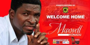 OFFICIAL: Maxwell Konadu returns to Kotoko after signing 2-years contract