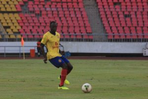 Inusah Musah: Ghanaian defender a doubt for Petro de Luanda's clash against Recreativo this weekend