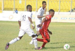 Former Asante Kotoko winger Ollenu Ashitey undergoing trial at Aduana Stars