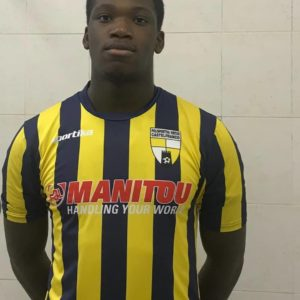 Ghanaian youngster Christian Ghartey scores his first goal of the season in Italy's youth league