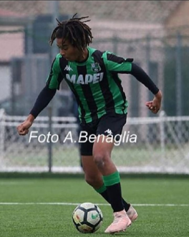 Sassuolo wonderkid, Justin Kumi has been a revelation this year in Italy's youth division