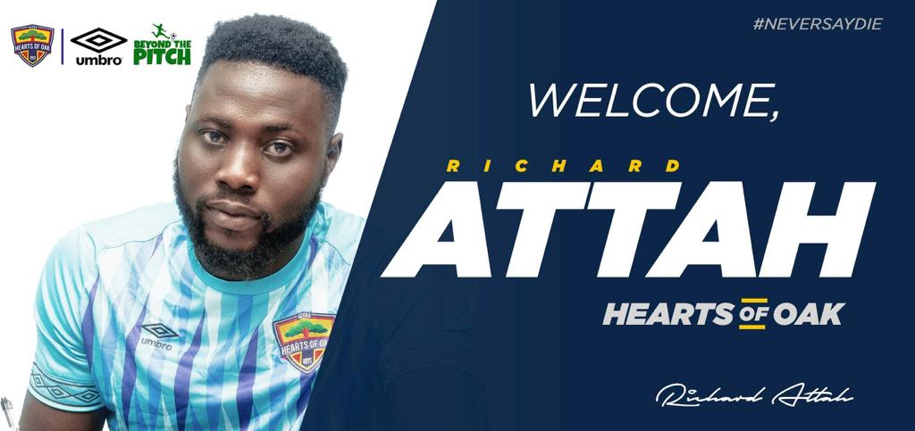 OFFICIAL: Hearts of Oak sign goalkeeper Richard Attah