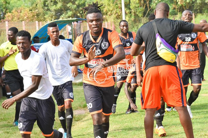 Sadick Sule nets Legon Cities FC's first-ever GPL goal