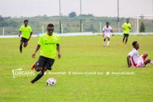 Dreams FC winger Samuel Pimpong joins Berekum Chelsea on loan
