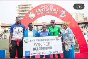 15 girls from Ghana selected for Asisat Oshoala Football Championship