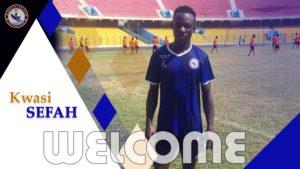 Berekum Chelsea wrap up signing of Kwesi Sefah Biney