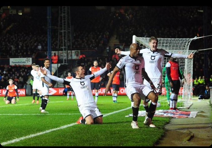 Andre Ayew charges Swansea City teammates to keep fighting for Premier League football
