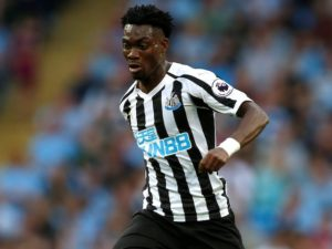 Ghanaian winger Christian Atsu features as Man City hammer Newcastle at Etihad